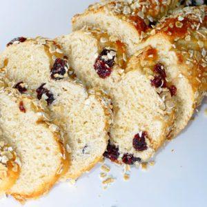 Brioche rhum cranberry - Eau de thym traiteur Montpellier - Petit déjeuner
