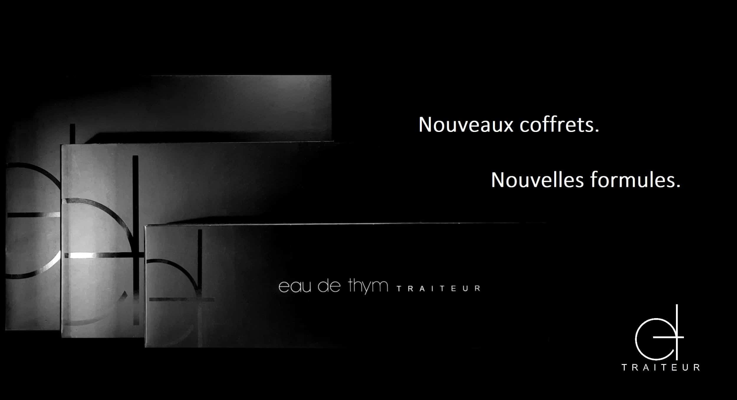 Nouveaux coffrets pour nos pièces cocktail et apéritif, Eau de thym traiteur à Montpellier