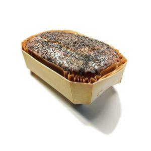 Cake maison au citron et pavot noir 2- Eau de thym, traiteur à Montpellier