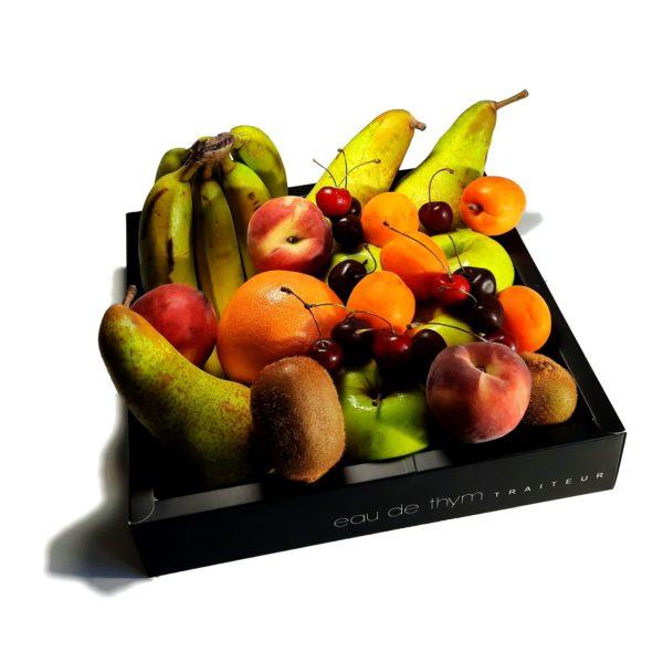 Coffret de fruits de saison Bio selon marché - Eau de thym