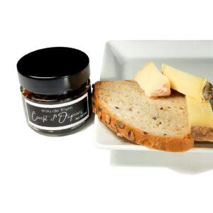 Kit fromages artisanaux, pain maison et confit d'oignon 1- Eau de thym traiteur à Montpellier
