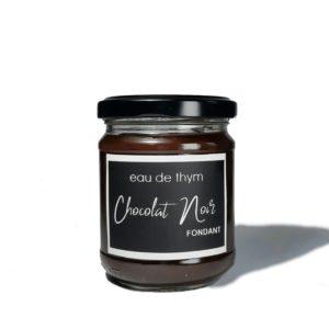Pot de sauce au chocolat noir 2 - Eau de thym, traiteur hérault